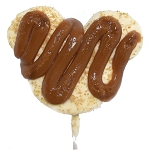 Disney Werther's Caramel - Gingerbread Marshmallow Pop - Mickey Icon - White Chocolate