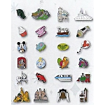Disney Mystery Pin - Tiny Kingdom - Series 3 - Blind Box