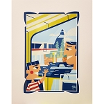Disney Artist Print - Benjamin Burch - A Trip Around the Park