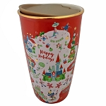 Disney Travel Tumbler - Disney Parks Starbucks Holiday Favorites Map