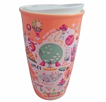 Disney Travel Tumbler - Starbucks Park Map - Epcot