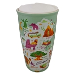 Disney Travel Tumbler - Starbucks Park Map - Animal Kingdom