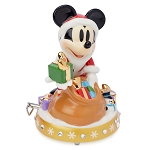 Disney Musical Figurine - Santa Mickey Mouse