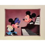 Disney Print - Alex Maher - Duet - Mickey Mouse and Minnie Mouse