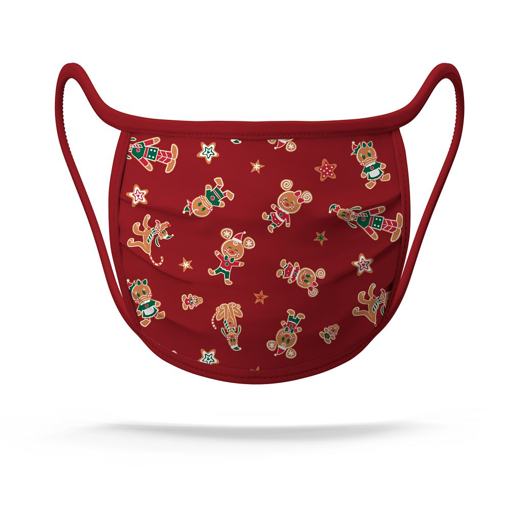 Disney Face Mask - Gingerbread Mickey and Minnie NEW FABRIC!