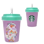 Disney Ornament - Starbucks Cup - Magic Kingdom