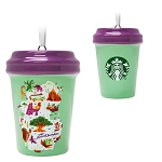 Disney Ornament - Starbucks Cup - Animal Kingdom