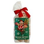 Disney Goofy Candy Co - Santa Mickey and Minnie Holiday Frosted Pretzels