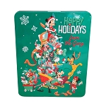 Disney Candy Tin - Happy Holidays from the Gang Peppermint Bark