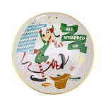 Disney Dessert Plate - Goofy All Wrapped Up