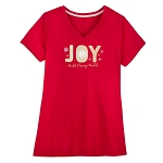 Disney Ladies Shirt - Christmas Holiday Walt Disney World Joy