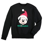 Disney Child Shirt - Walt Disney World Holiday Santa Mickey Sweatshirt