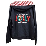 Disney Ladies Hoodie - Santa Mickey Tis the Season to be Jolly