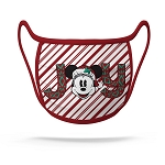Disney Face Mask - Christmas Peppermint Minnie Joy NEW FABRIC!