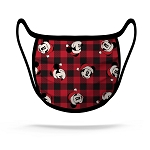 Disney Face Mask - Buffalo Check Santa Mickey NEW FABRIC!