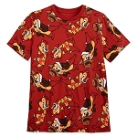 Disney Adult Shirt - Allover Print - Chip n Dale