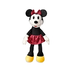 Disney Plush - Crafted Vintage Styling - Minnie Mouse - 11''