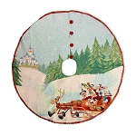 Disney Tapestry Tree Skirt - Mickey Mouse and Friends
