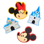 Disney Bag Clip Set - Disney Parks Icons