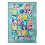 Disney Toddlers Throw Blanket - Disney Parks Alphabet