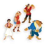 Disney D-Flair Pin Set - Disney Boy Band