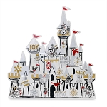 Disney Holiday Charm Countdown Calendar - Silver and Gold - Mickey and Minnie Mouse