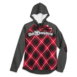 Disney Women's Pullover - Red Plaid - Walt Disney World