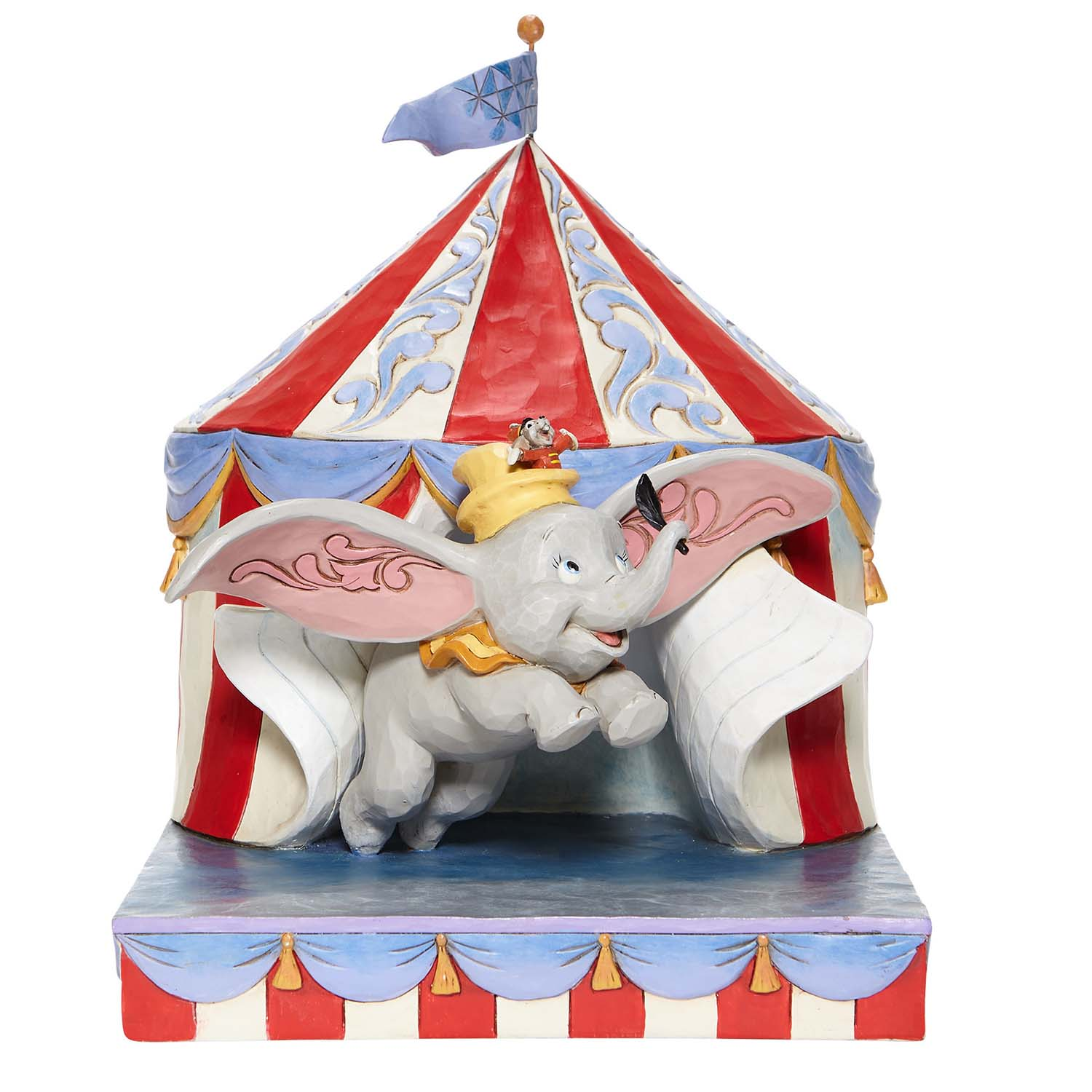 Disney Traditions by Jim Shore - Dumbo Flying Out of Tent Scene