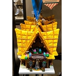 Disney Ornament - Tiny Town Collection - Enchanted Tiki Room