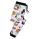 Disney Men's Pajama Pants - Mickey Mouse and Friends Pop Art