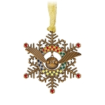 Universal Ornament - Harry Potter - Golden Snitch Snowflake Spinner