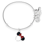 Disney Alex and Ani Bracelet - Minnie Mouse Ear Headband - Red and Black