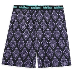 Disney Men's Boxer Shorts - The Haunted Mansion Wallpaper