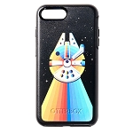 Disney iPhone 8 Plus/7 Plus Case by OtterBox - Star Wars - Millennium Falcon Rainbow