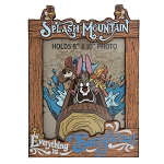Disney Picture Frame - Splash Mountain - Everything is Satisfactual - 8x10''