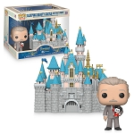 Disney Funko Rides Pop Vinyl Figure - Walt Disney and Sleeping Beauty Castle