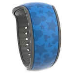 Disney MagicBand 2 Bracelet w/ Sorcerer Mickey MagicBandIt - Fantasia  - Wishes Come True Blue