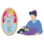 Disney D-Flair Pin Set - Cinderella and Lady Tremaine