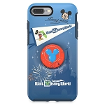 Disney OtterBox iPhone 8+/7+ Case w/ Pop Sockets Pop Grip  - Mickey Mouse - Walt Disney World Florida