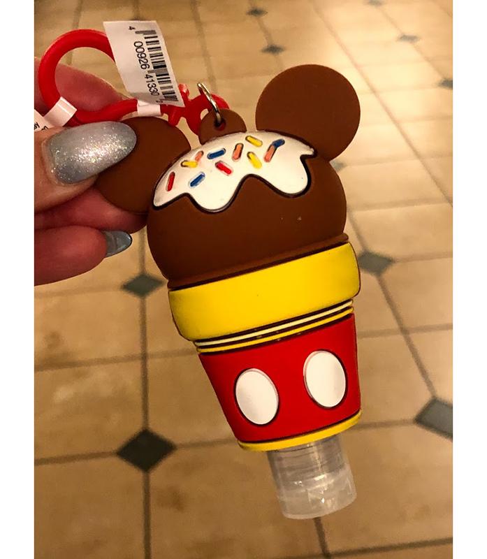 Mickey Mouse Ice Cream Keyring