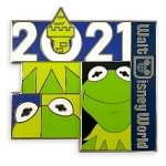 Disney Pin - Walt Disney World 2021 Logo - Kermit