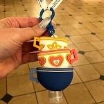 Disney Hand Sanitizer Keychain - Tea Cups