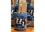 Disney Coffee Cup w/ Spoon - Fantasia - Sorcerer Mickey