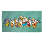 Disney Beach Towel - Seven Dwarfs