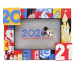 Disney Photo Frame - Walt Disney World 2021 Logo - Mickey Mouse and Friends - 4''x6''