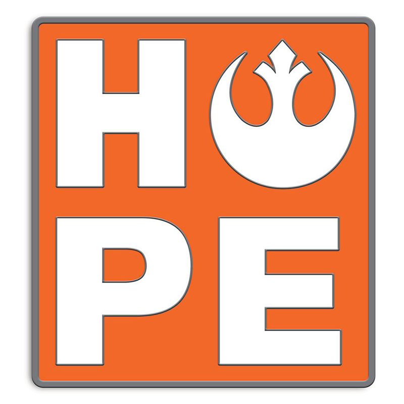Disney Pin by Her Universe - Star Wars - Rebel Alliance Starbird HOPE