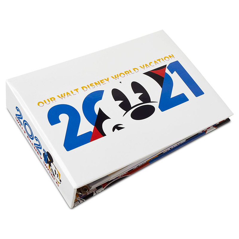 Disney Photo Album - Walt Disney World 2021 Logo - Mickey Mouse and Friends - 100 Photo