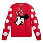 Disney Adult Intarsia Knit Sweater - Minnie Mouse
