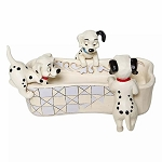 Disney Traditions by Jim Shore - 101 Dalmatians Bone Trinket Dish