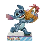Disney Traditions by Jim Shore - Stitch with Easter Basket